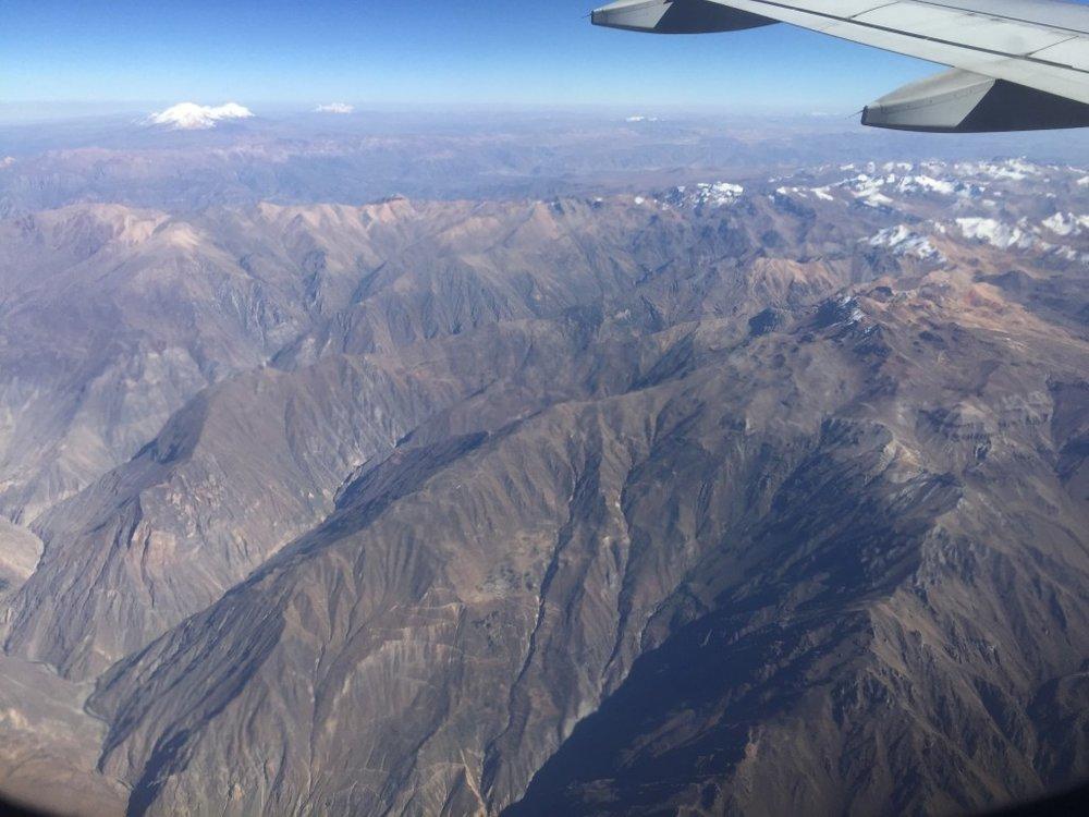 سلسلة جبال الإنديز