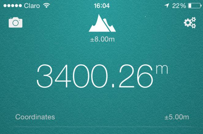 مستوى ارتفاع المدينة عن سطح البحر كما يبدو في كوسكو