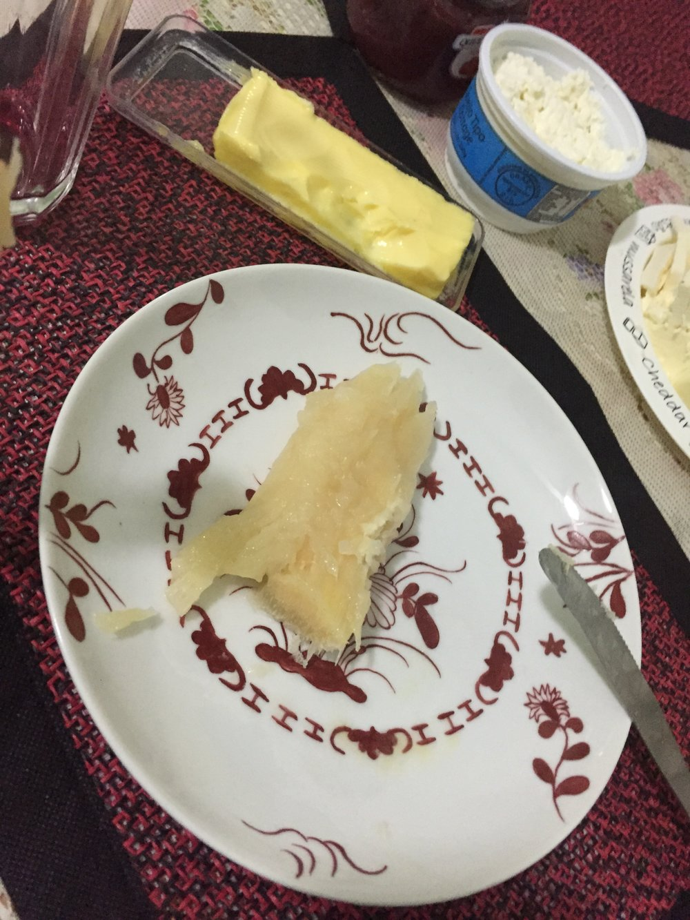 أكلة برازيلية تدعى مانيوكا
