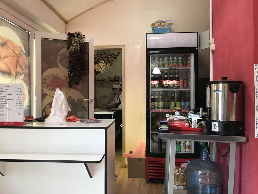 الإمرأة العاملة في المطبخ الداخلي