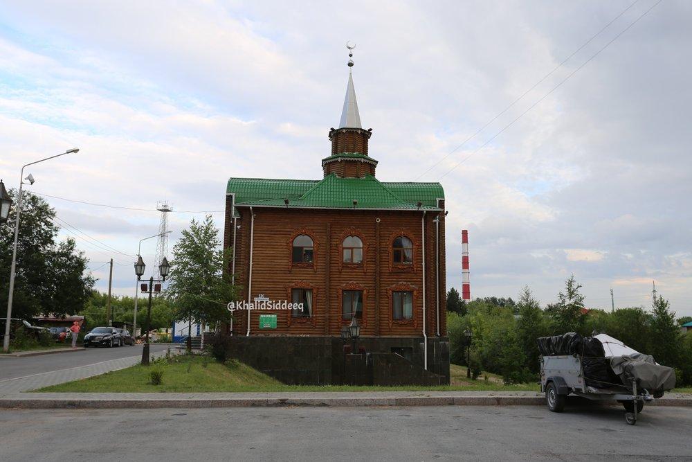 المسجد من الخارج