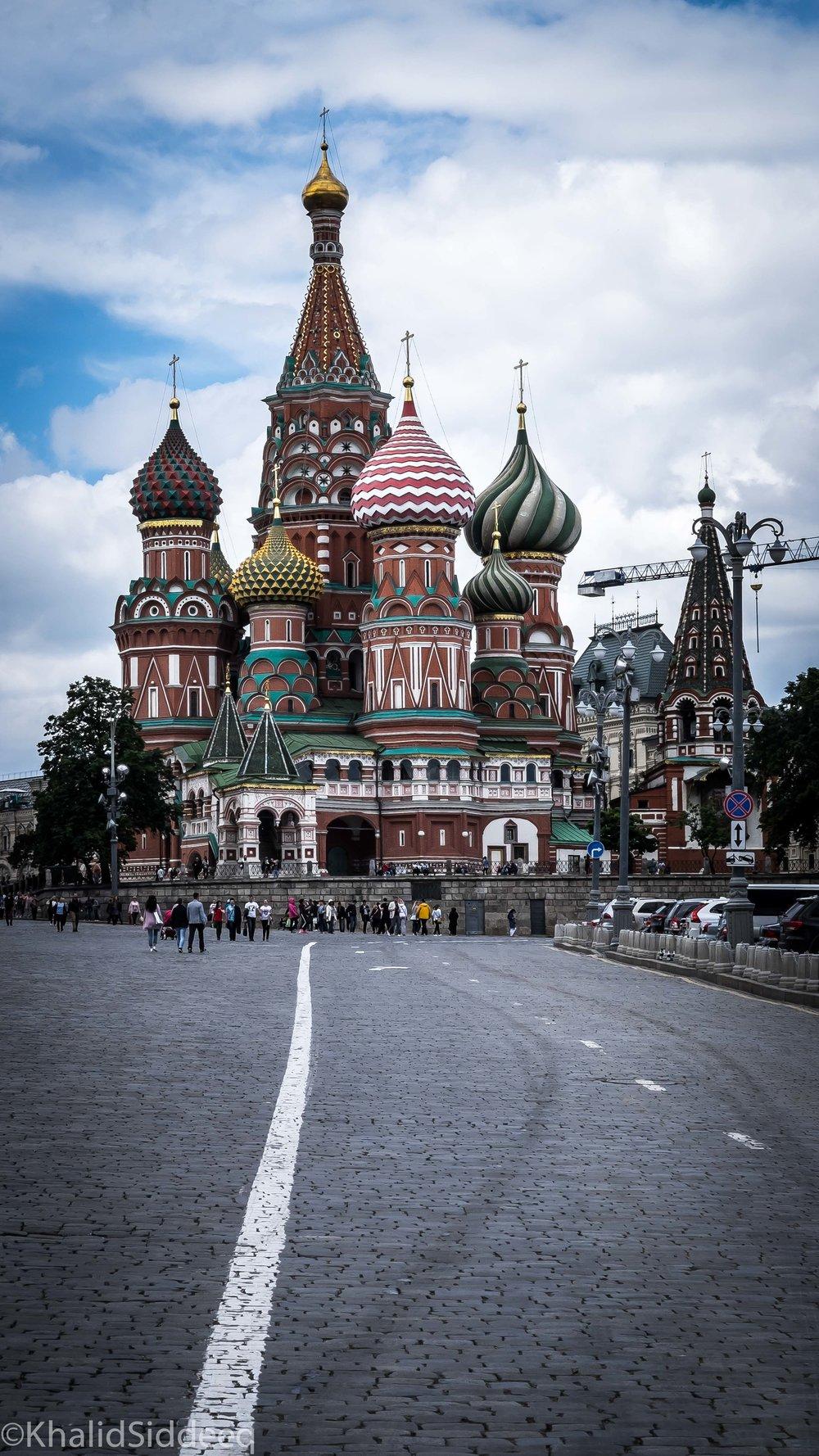 كنيسة سانت باسيل، موسكو، روسيا