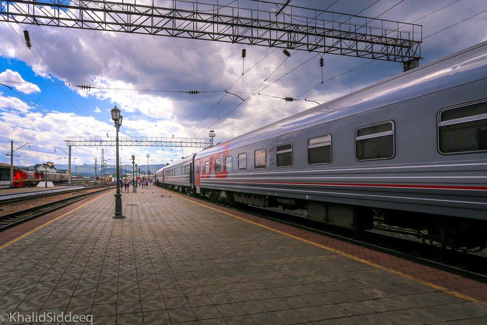 دليلك إلى قطار سيبيريا - يبدأ من هنا