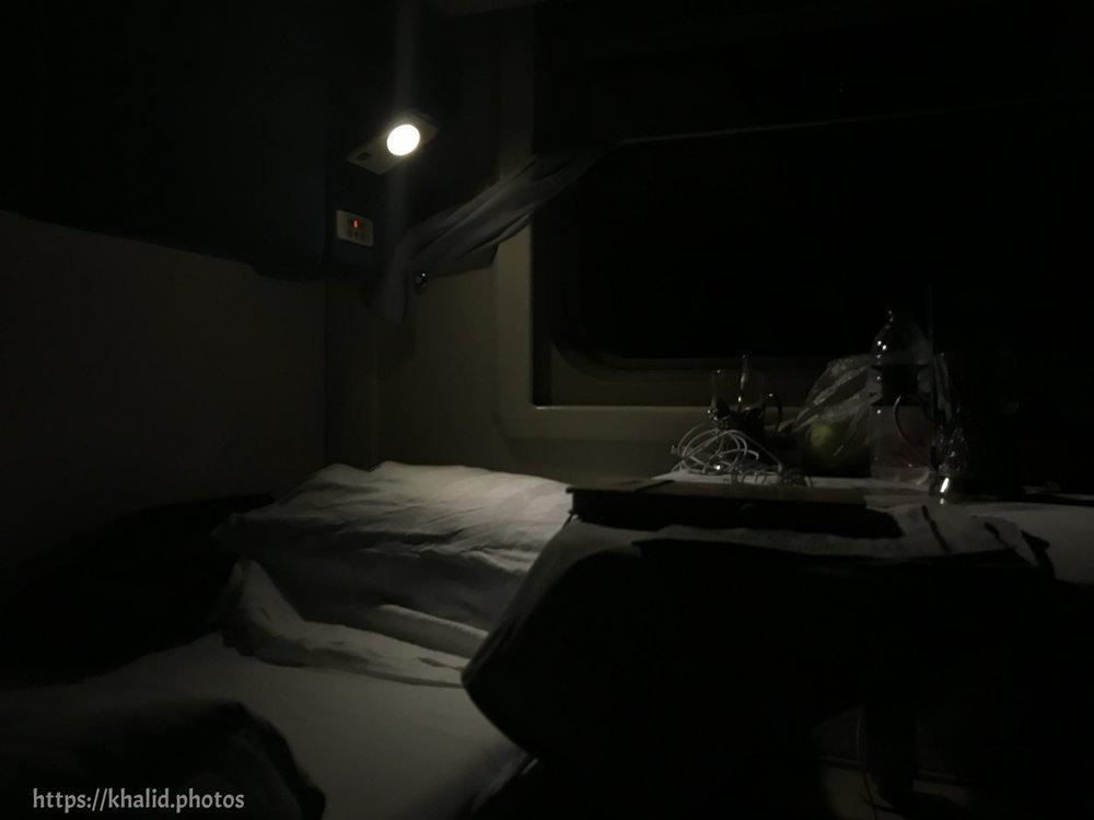 المقصورة ليلاً