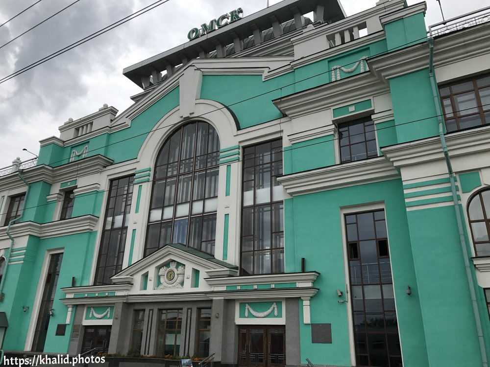 محطة مدينة أومسك