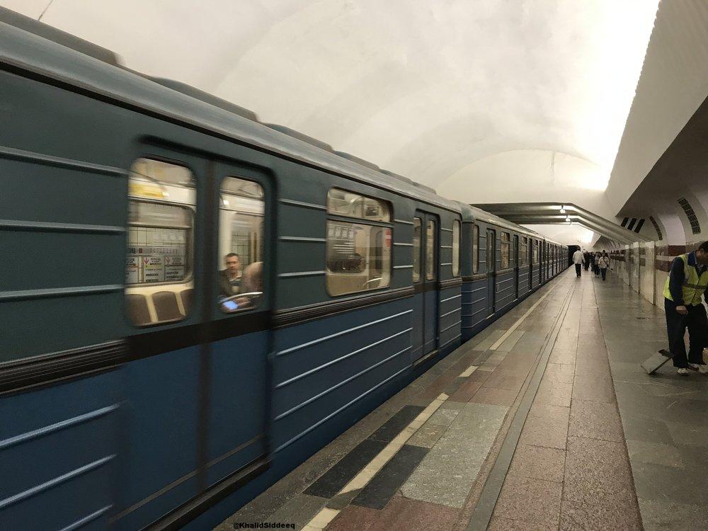 قطارات المترو، خيار جميل في العواصم الروسية