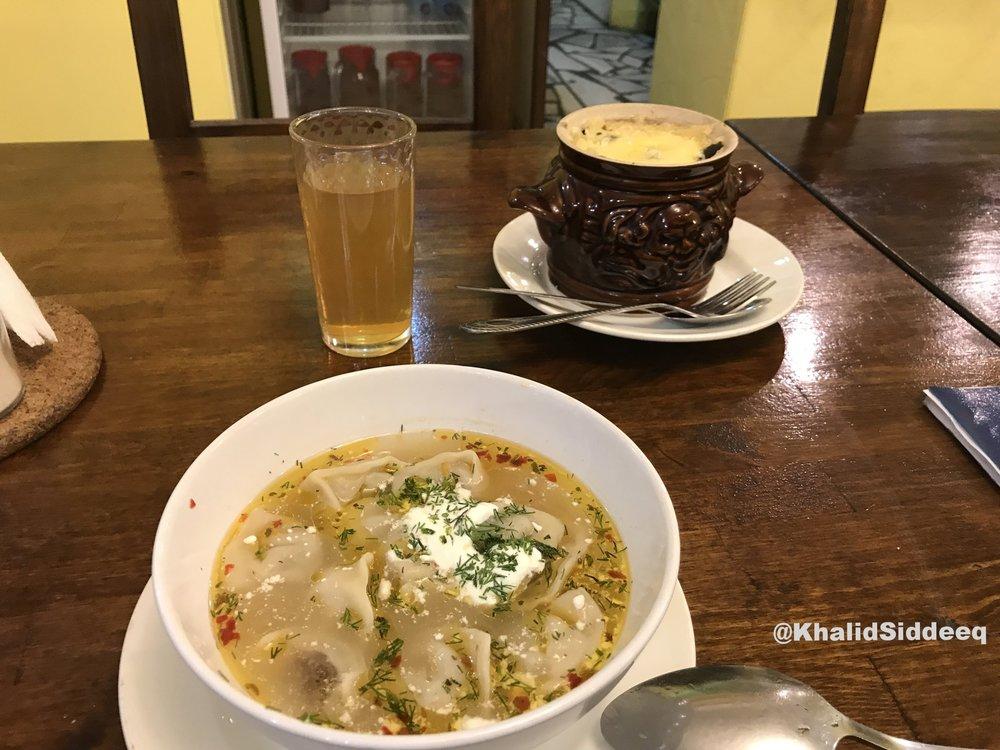 شراب الكمبود، حساء التشوتشوارا، ووجبة ماسيبافرانسيستا