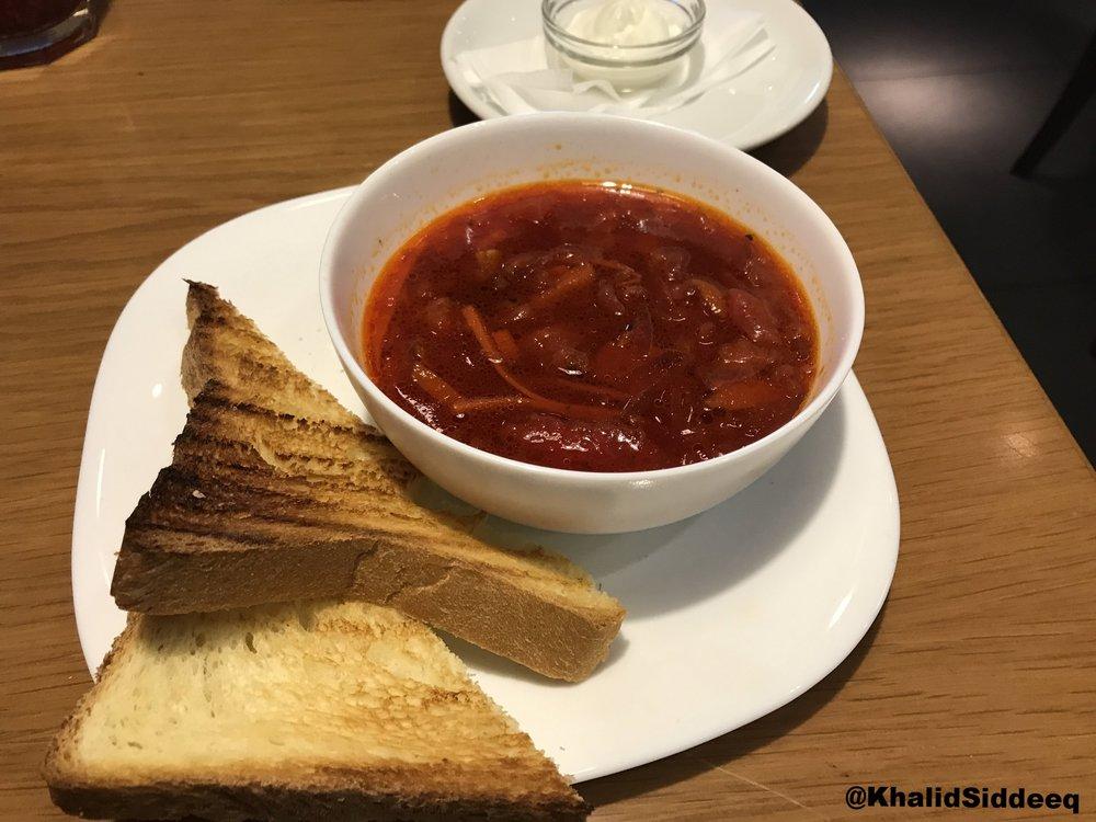 حساء البلوش الروسي
