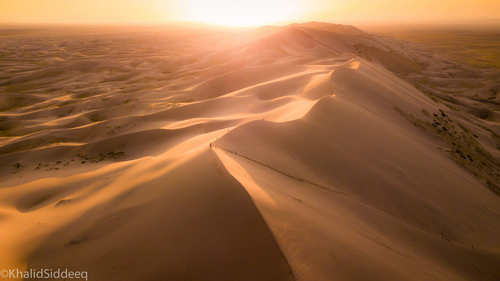 صحراء جوبي - منغوليا