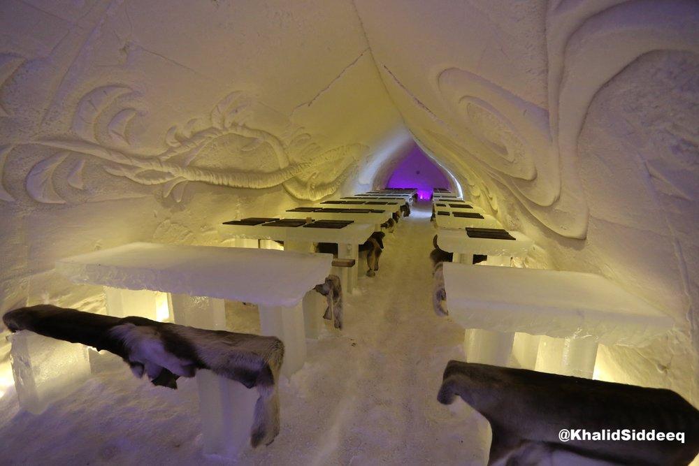 المطعم الثلجي