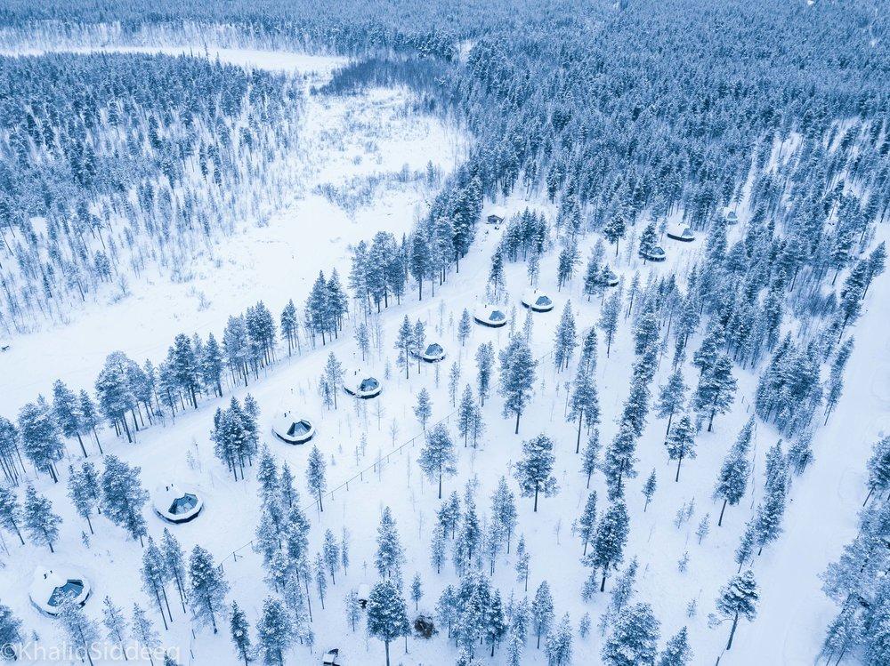 ٢٥ درجة مئوية تحت الصفر - في أقصى شمال فنلندا