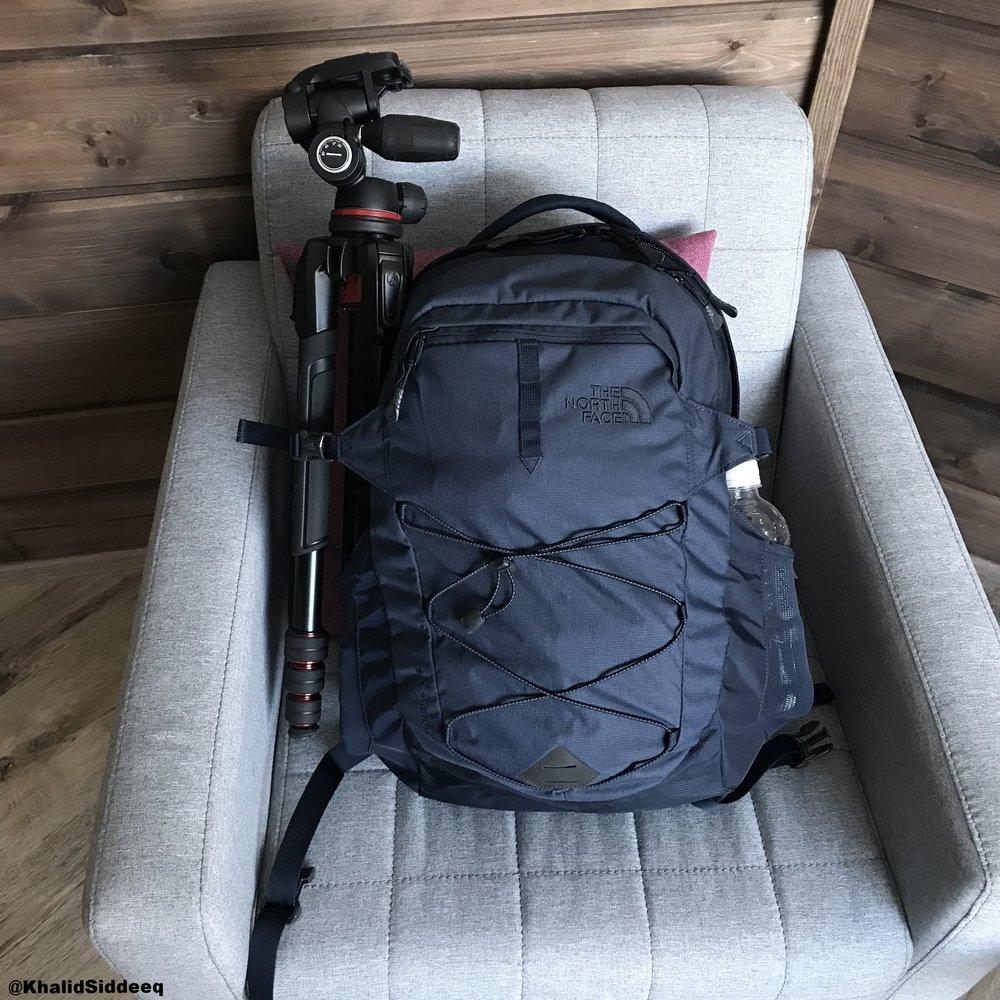 حقيبة سفري الوحيدة في رحلتي الشتوية