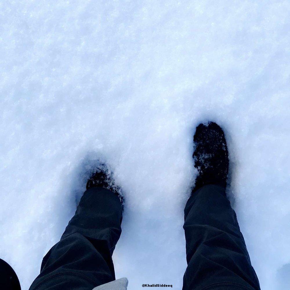ارتداء الحذاء المناسب يساعدك في الوقاية من الثلوج المرتفعة