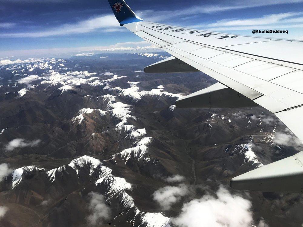 منظر يذكرني كثيراً بجبال الإنديز في أمريكا اللاتينية