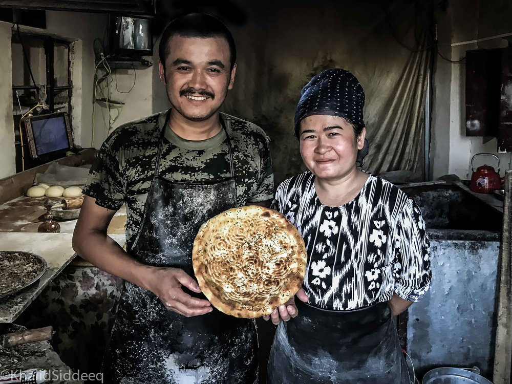 بائعي الخبز، توربان، الصين