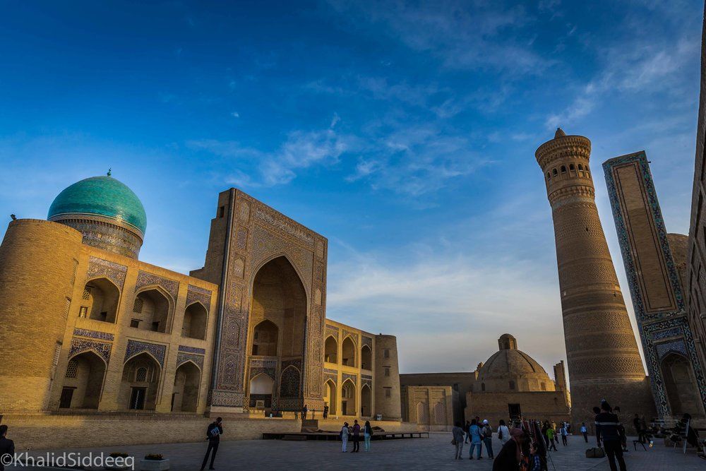 بخارى - فتحت فحتً إسلامياً على يد قتيبة بن مسلم الباهلي