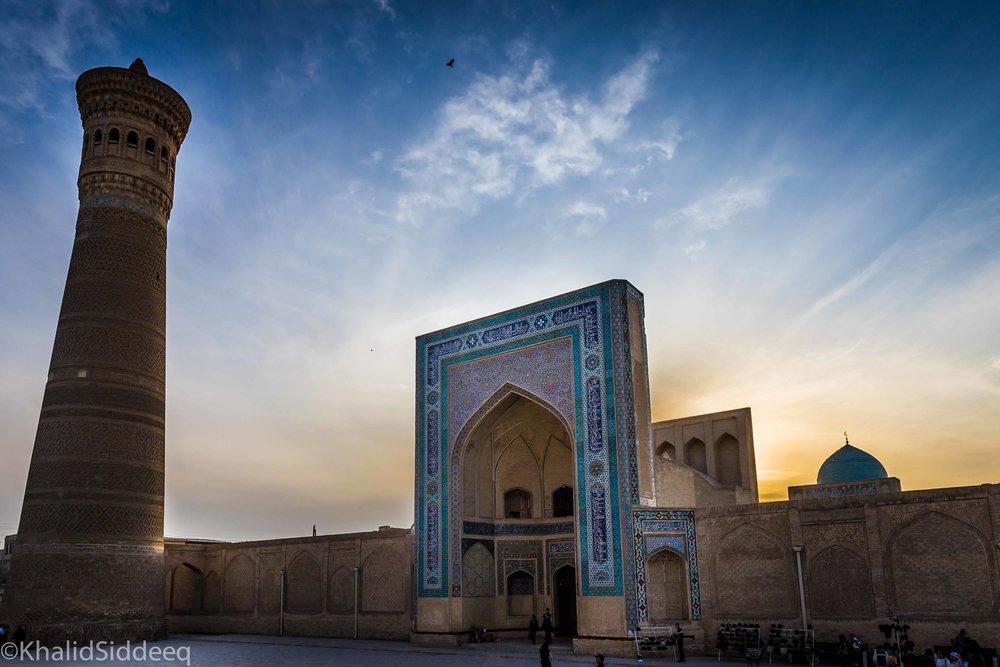بخارى، أحد المدن الواقعة على طريق الحرير
