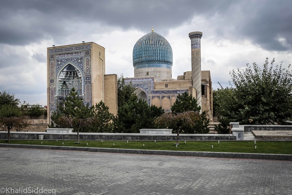 ضريح الأمير تيمور، سمرقند، أوزباكستان