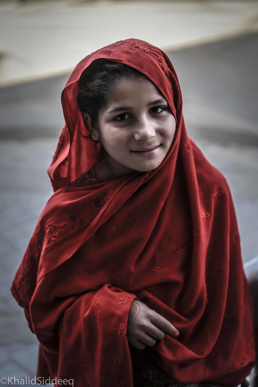 إبنة القرية - من قرية بيشام، في شمال باكستان