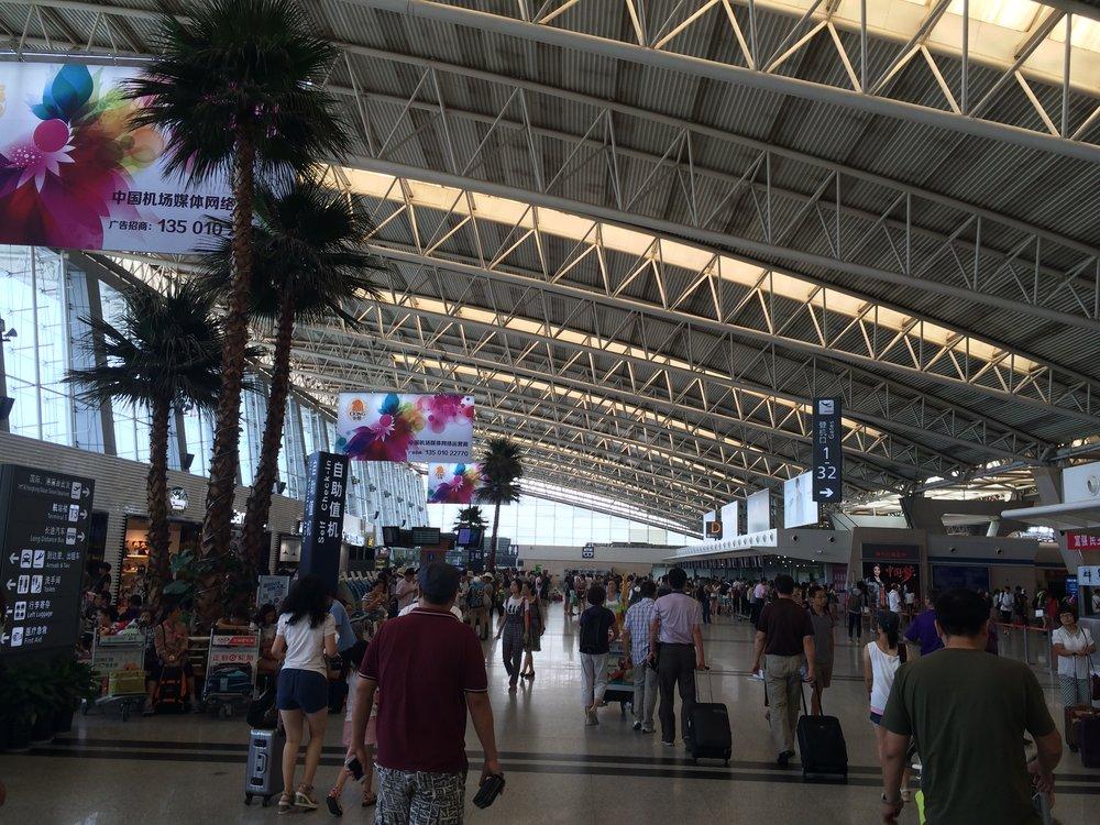 مطار شوانغليو في تشغندو - أحد أهم المطارات المحورية في الصين