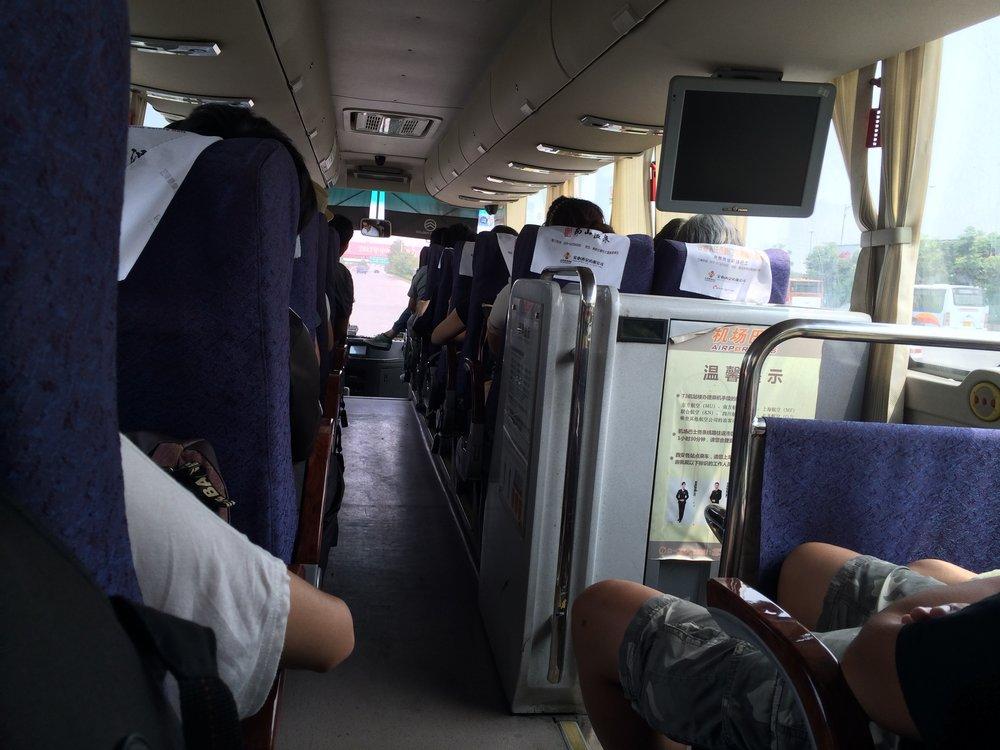 سافرت كثيراً بالباص - بين المدن الصينية، أجدها تجربة فريدة وممتعة إلى حد كبير