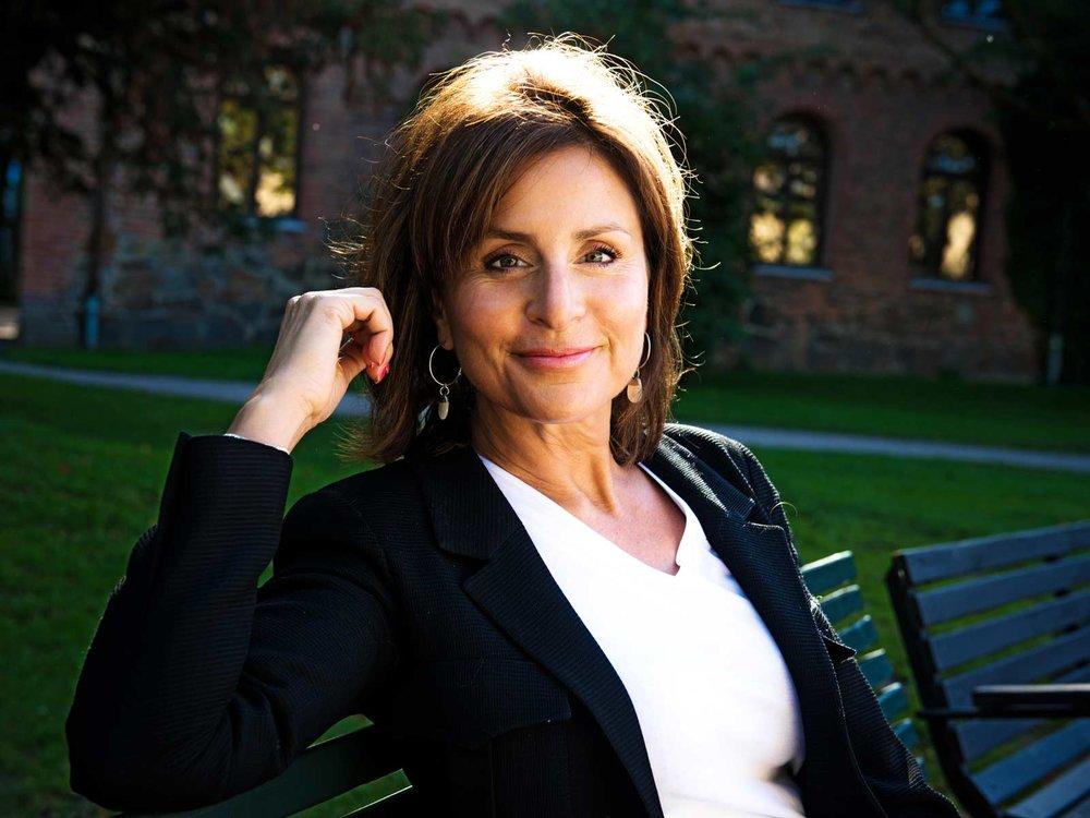 Maria Borelius, entreprenör, journalist, f.d. statsråd.