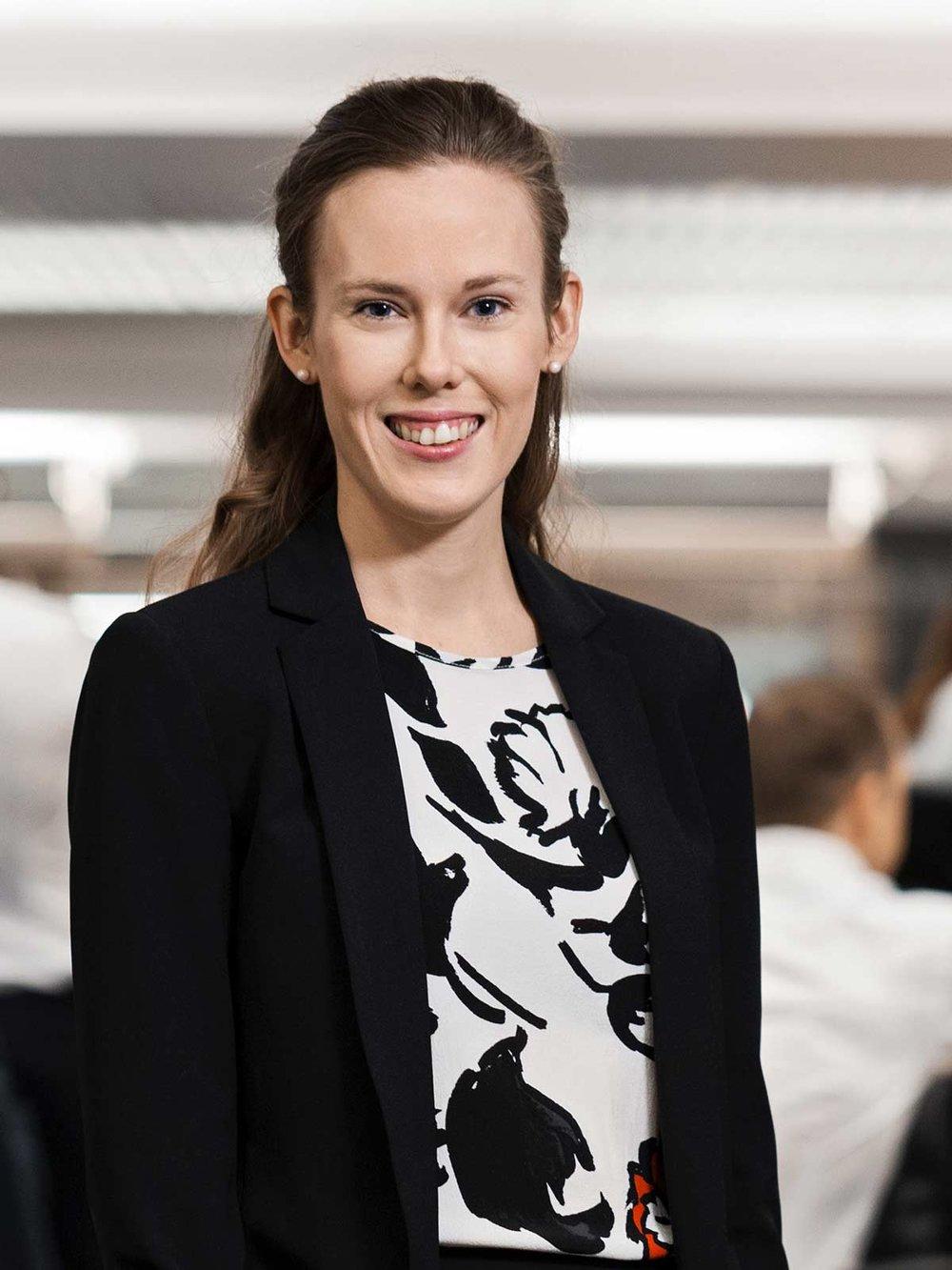 Susanne Spector, senior makroanalytiker, Nordea.