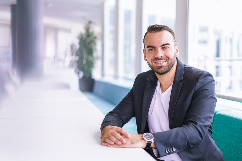 Fadi Barakat, näringslivsutvecklare, Malmö Stad.