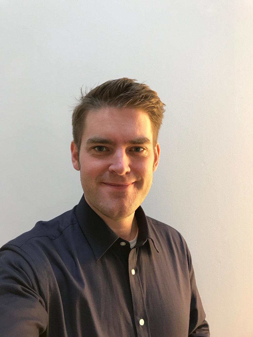 Martin Gunnarsson, studio lead, Jayway