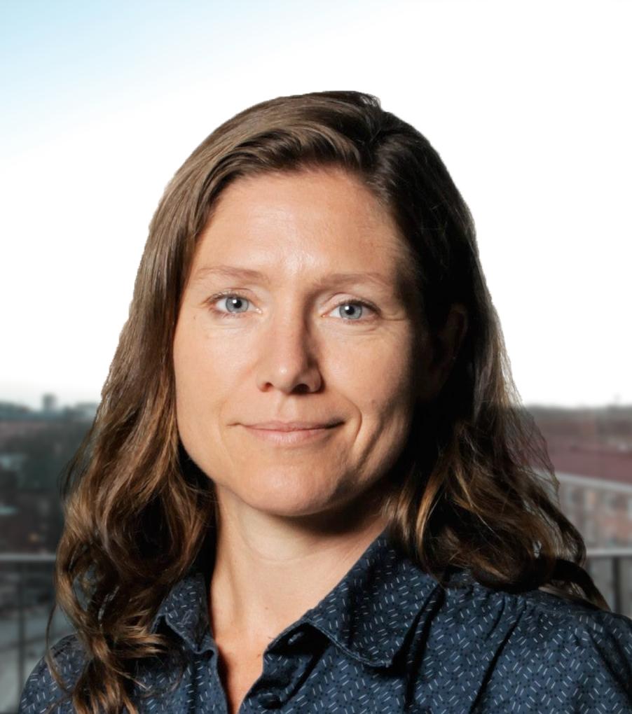 Emma Leijnse, moderator för konferensen