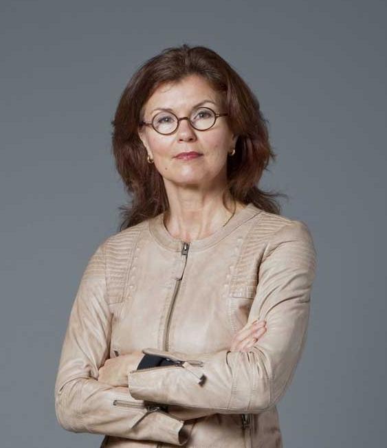 Heidi Avellan, moderator för konferensen