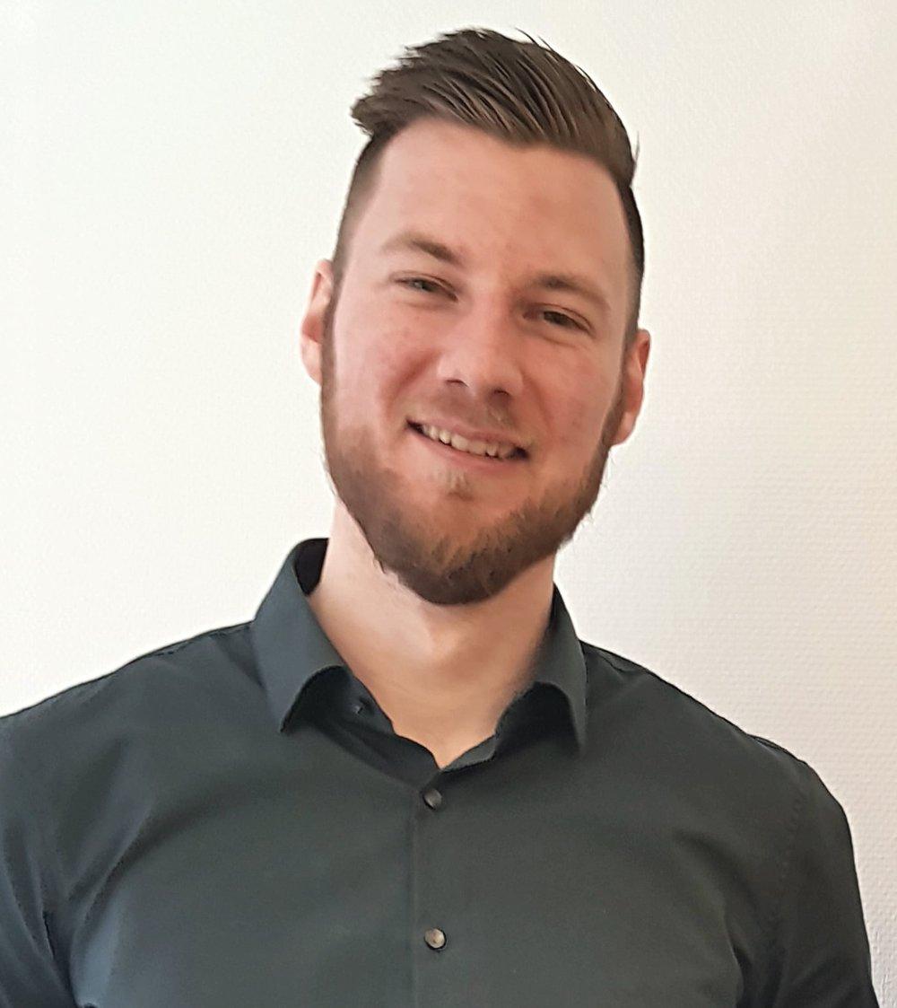Victor Vilsmyr, Delprojektledare DIDEC   Victor är delprojektledare för projektet, med ansvar för processutveckling.