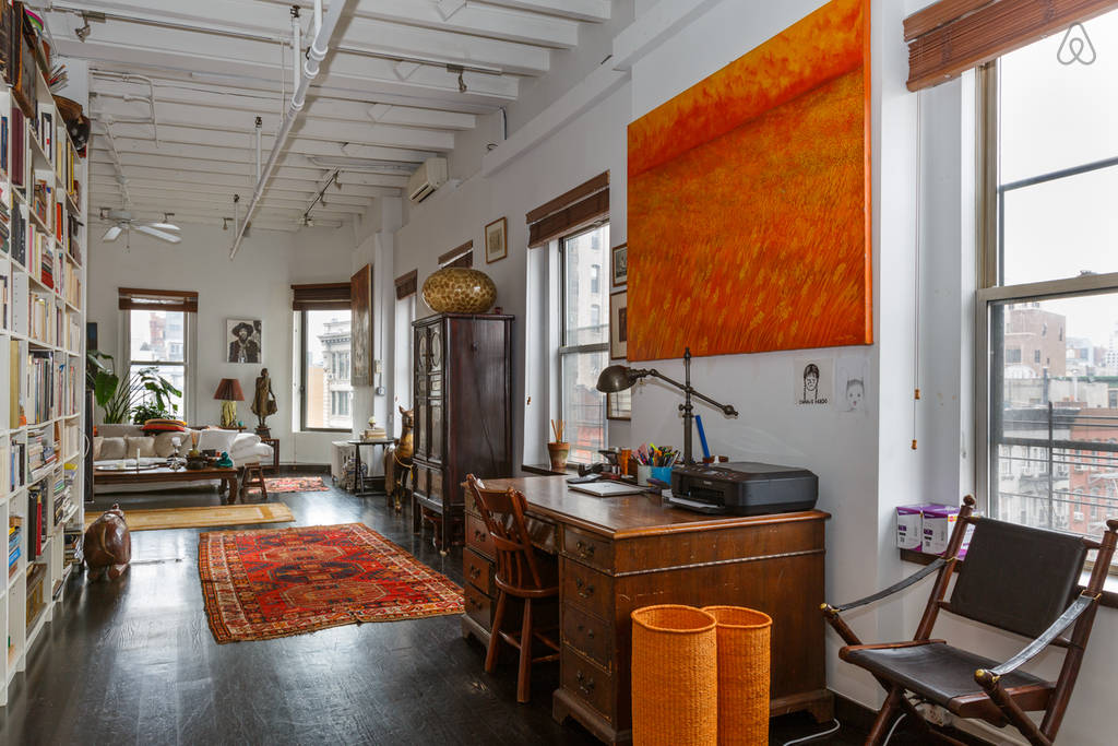 Airbnb loft in soho NYC