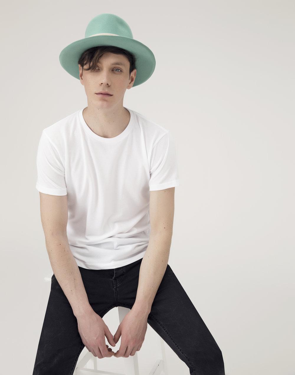 Copy of Copy of Green Felt Mens Hat