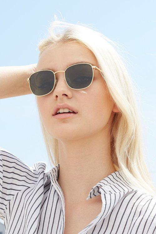 a38a1414a7a Le Specs Neptune Sunglasses - Bright Gold