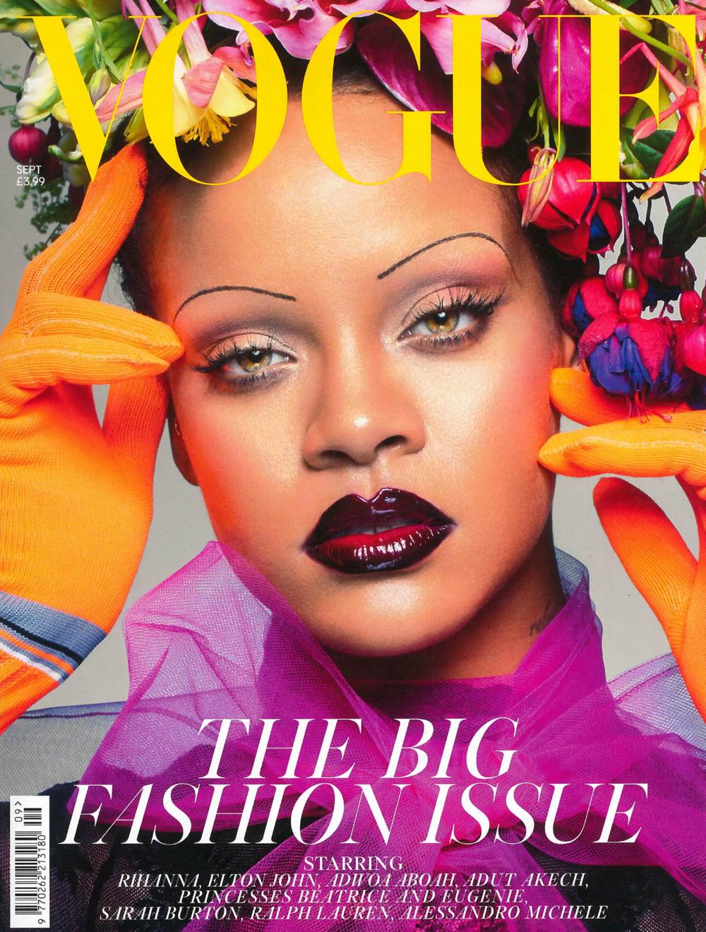 IMWIM British Vogue Sept Issue Designer Profile Cover