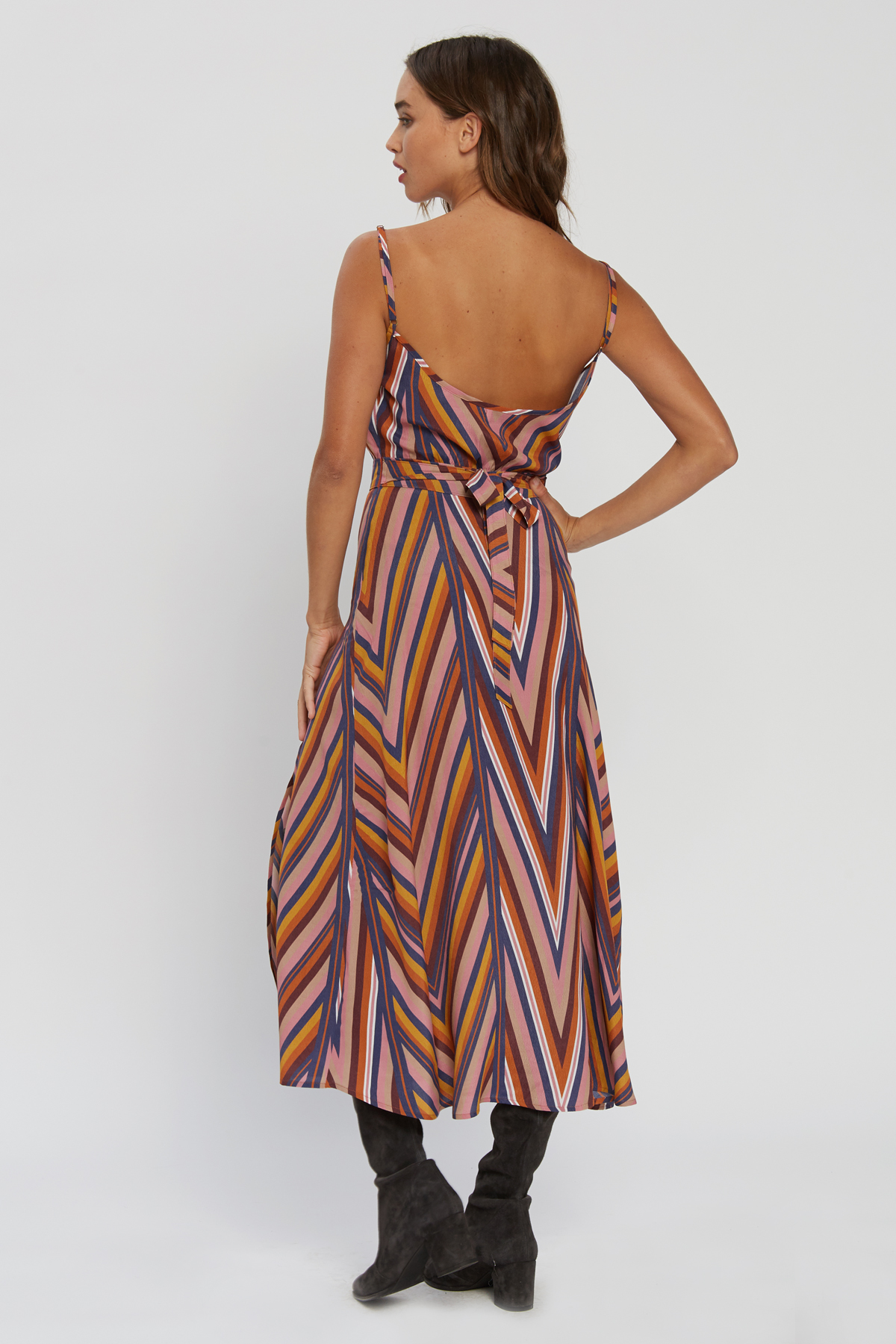 d591e4f4e712e Hazel Stripe Midi Dress - Ziggy — IMWIM