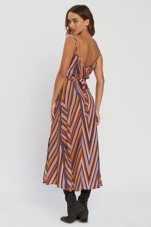 d905c7cf21ee7 Flynn Skye Hazel Stripe Midi Dress - Ziggy