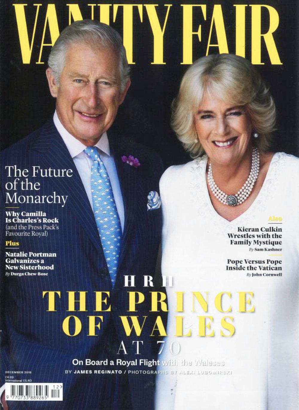 IMWIM British Vanity Fair Dec Issue The Best Dressed Cover