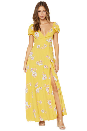 2e125c4952650 Annabelle Floral Wrap Maxi Dress ...