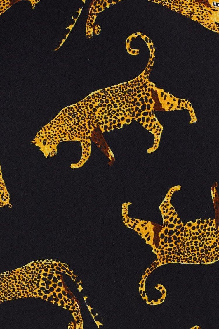 ed58a854d25e Bec + Bridge Conga Beat Leopard Print Mini Dress