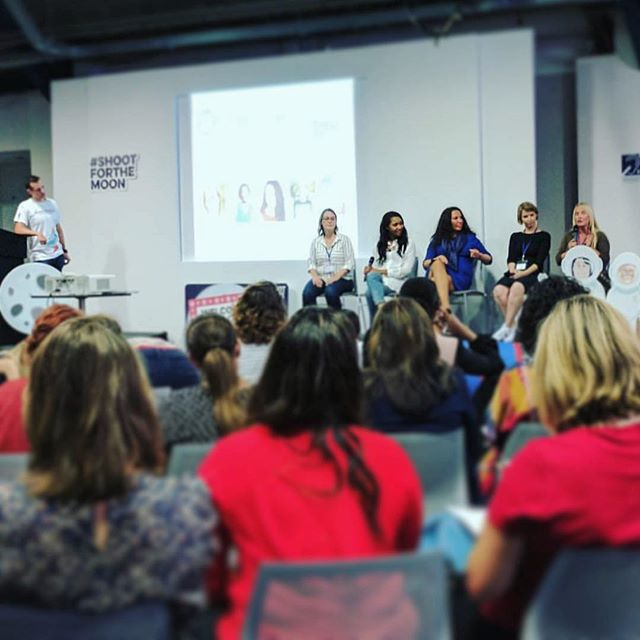 Our founder @juneangelides representing Mums In Technology at the @mumsenterprise roadshow for a riveting Q&A panel!  Picture from one of the attendees @nix.rix . . . . . . . . . . . . . . . . . . . . . . #mumsintech #mumsenterprise #roadshow #shootforthemoon #mums #Q&A #panel #talkitout #discussion #ladies #parents #everyone #growth #growing #striveforgreatness #learning #education #ideas #foreveryone #foodforthought