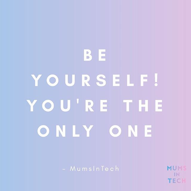 Here's a reminder to follow your dreams and be your best self! . . . . . . . . . . . . . . . . #beyourself #quoteoftheday #quote #humpday #wednesday #wow #onlyoneofyou #youretheonlyone #inspo #inspoquote #inspiration #inspirationalquotes #youcandoit #loveyourself #beyourbestself #doyourvest #striveforgreatness #yesyoucan #mumsintech #digitalmums #tech #technology #womenintech #mums #dads #parents #everyone #peopleoftheworld