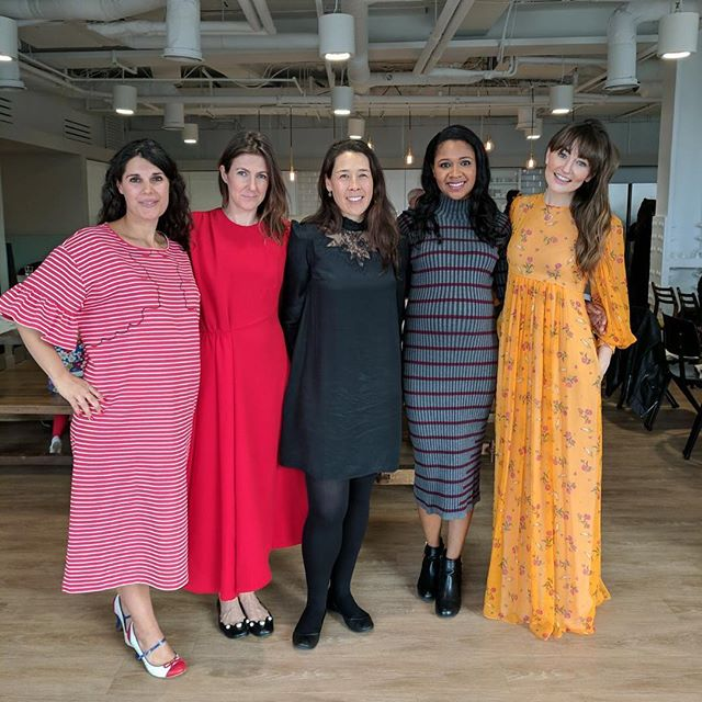 With a Sisterhood this strong, you can do anything! Incredible speakers and audience today at @matchesfashion! So many nuggets of wisdom. Keep an eye out for our blog about the event! #matchesfashion #fashionrecoded #sisterhood
