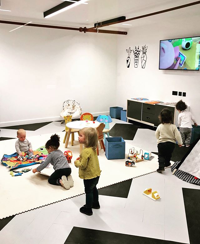 It's Half-Term week! So our lovely mamas and babies get a week off to chill. We'll be missing them so here's what we got up to last week at @huckletree #HuckletreeWest #westfield #london #mums #course #halfterm #thingstodowithkids