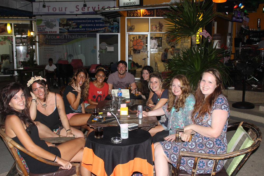 The TEFL gang in Krabi  -