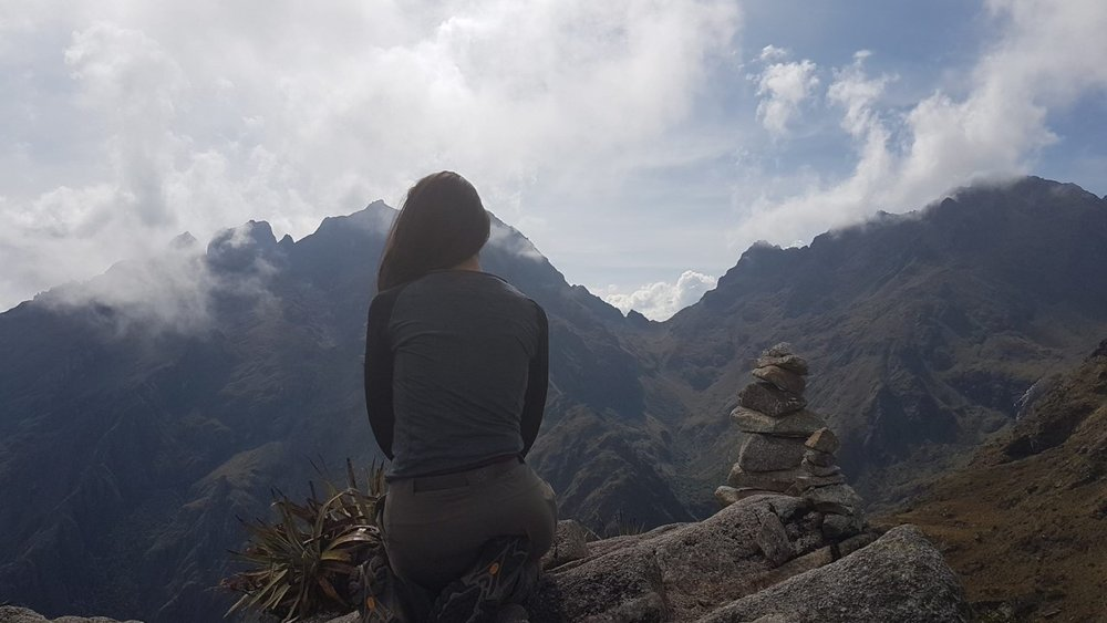 "At one with nature - immersed in the beauty of ""The Inca Trail"" in Peru."