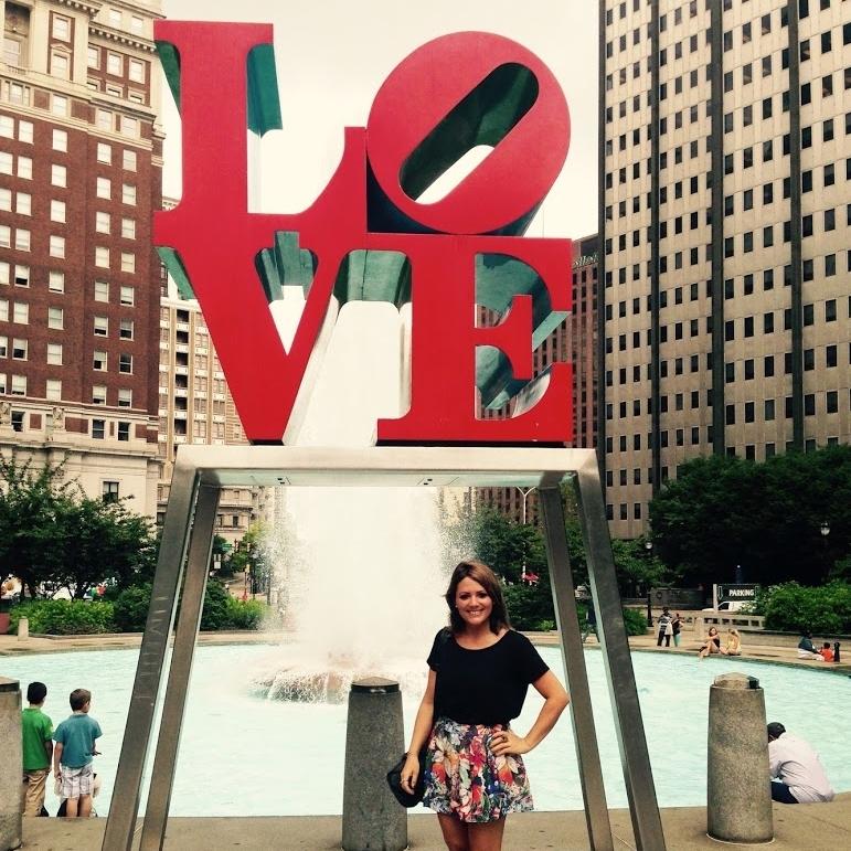 Love sculpture in Philadelphia, USA