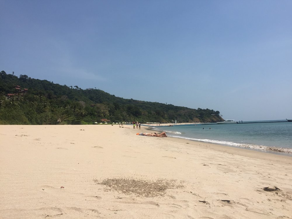 Klong Ning Beach on Koh Lanta, Thailand