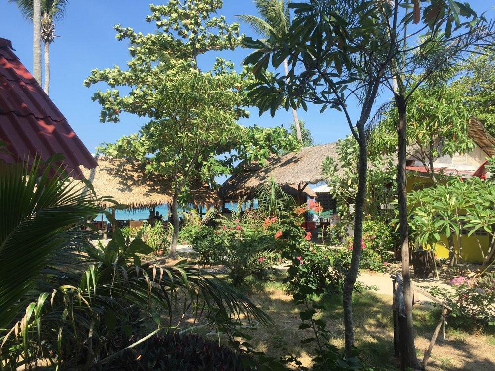 Beach bungalows on Koh Lanta